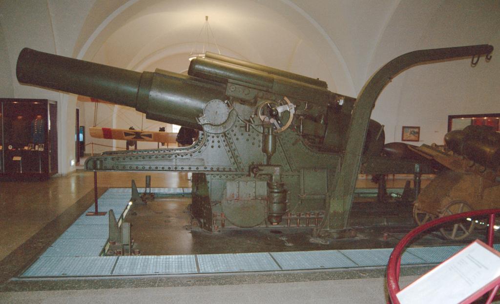 Carso segreto: il mortaio Skoda da 38cm